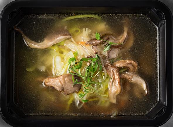 Грибной суп-лапша
