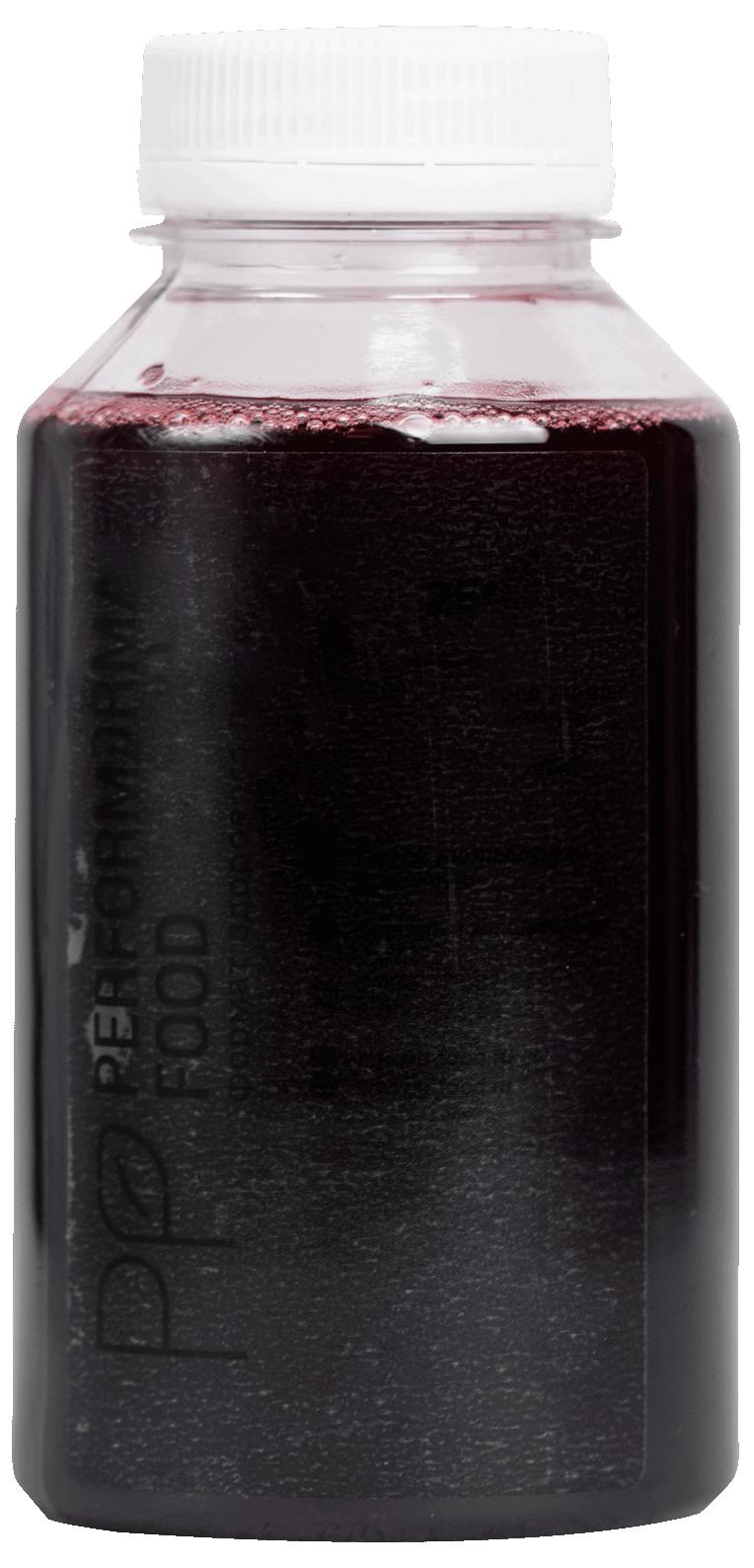 Напиток из черно-плодной рябины с вишней и корицей